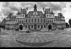 *Hotel de Ville* Paris by erhansasmaz.deviantart.com on @DeviantArt