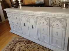 Elegant Dresser / Buffet custom order available by WisteriaAve