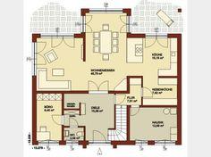 Grundriss EG Architecture Plan, Boro, House Plans, Floor Plans, House Design, Flooring, How To Plan, Creative, Petra