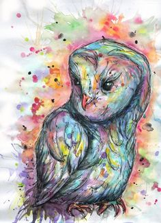 'Hibou Color' by Marina Mew