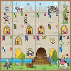 Fairy Tale Activities, Activities For Kids, Computer Coding For Kids, Castle Playhouse, Castle Project, Christmas To Do List, Esl Lessons, Château Fort, Classroom Themes