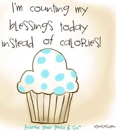 Count your blessings quote via www.Facebook.com/PrincessSassyPantsCo