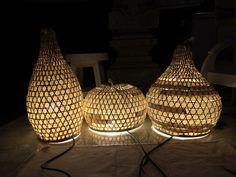 #lamp #bamboo #cotton #selfmade #natural