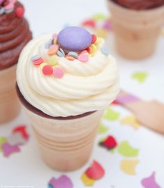 Lasst uns feiern! Mit Ice Cream-Cupcakes!