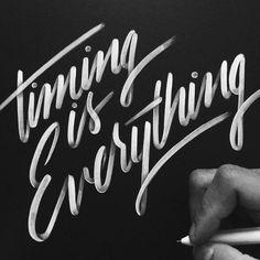"""Timing is Everythin http://ift.tt/1UV9tHg"