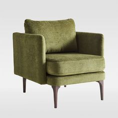 Select living room chairs from west elm to offer comfortable seating in your home. Our collection includes silhouettes, sizes and colors for every style. Living Furniture, Living Room Chairs, Furniture Logo, Street Furniture, Dining Chairs, Furniture Removal, Living Rooms, Furniture Buyers, Furniture Cleaning