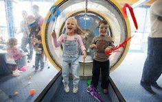 AirWorks   DuPage Children's Museum = wind tunnel!
