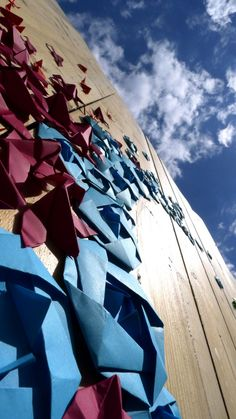 Mademoiselle Maurice's Amazing Origami Street Art