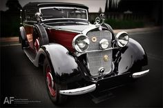 1936 Mercedes-Benz 230 Cabriolet B (W 143). Photo: Royce Rumsey/Auto Focused