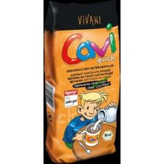 Cavi Σοκολάτα σε σκόνη για στιγμιαίο ρόφημα Ποϊόν βιολογικής γεωργίας Για χρήση με  ζεστό ή κρύο γάλα. Χωρίς λεκιθίνη Chocolate Powder, Snack Recipes, Snacks, Cereal, Chips, Cacao, Breakfast, Food, Birch