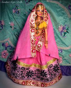 Gopi Doll OOAK Doll Altered barbie doll Chakrini by GopiDesigns