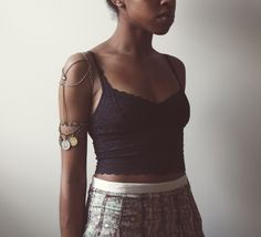 Gypsy Dreamer  Armband  Armcuff  Armlet  Vintage by xTarnishedx, $82.00