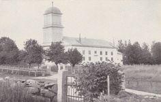 Ähtärin historiaa - Ähtärin vanha kirkko paloi 1935 salaman sytyttämänä. Salama, Snow, Album, Painting, Outdoor, Art, Historia, Outdoors, Art Background