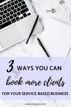 Get my 3 best tips for booking new or more clients now! Advice and strategies for service bases businesses and small business owners. Make Money Online, How To Make Money, Digital Marketing Strategist, Like Facebook, Mind Tricks, Online Business, Business Tips, Working Moms, Virtual Assistant
