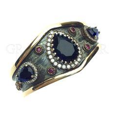 "Grand Bazaar Designer Turkish Bracelets ""OTTOMAN JEWELRY CRAFTED BY OUR JEWELERS IN ISTANBUL #GBJ1455""  #DESIGNER #TURKISH #Jewelry #JOTD #Handmade by #Jewelers & #Artisans of the #Grand #Bazaar in #Istanbul #Turkey #GBJ1455 #shop #online #GrandBazaarJewelers.com"