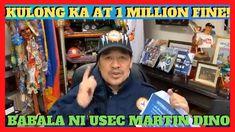 KULONG AT 1 MILLION FINE ANG DI SUSUNOD   USEC Barangay Affairs MARTIN DINO Affair, Baseball Cards, Sports, Travel, Hs Sports, Viajes, Destinations, Traveling, Trips