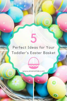 Candy free easter basket ideas basket ideas easter baskets and 5 perfect ideas for your toddlers easter basket negle Choice Image