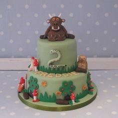 Gruffalo themed birthday cake