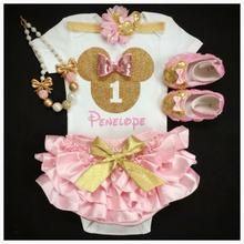 Minnie Birthday- First Birthday outfit/Minnie Mouse