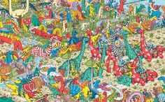 Published in the United States and Canada as Where's Waldo? this is a series of children's books created by British illustrator Martin Handford. Hidden Images, Hidden Pictures, Ou Est Charlie, Wheres Wally, English For Beginners, Little Games, Girls Time, Kids Church, Cartoon Pics