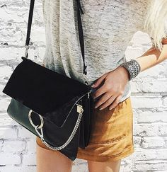 Chloé More Chloe Handbags, Outfit, Handbags Obsession, Bags Clutches, Things, Accessories, Fashion Bloggers, Wear, Single Fashion 7 Items Every Single Fashion Blogger Owns via @WhoWhatWear Chloe handbag