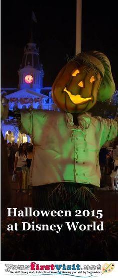 Halloween 2015 at Walt Disney World - The Walt Disney World Instruction Manual --yourfirstvisit.net