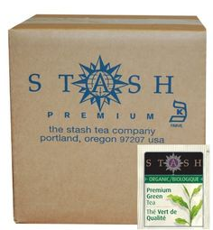 Stash Tea Organic Green Tea Bags in Foil, Premium, 100 Count -- Additional details at the pin image, click it  : Fresh Groceries