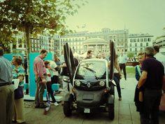 El Twizy en la Semana Europea de la Movilidad