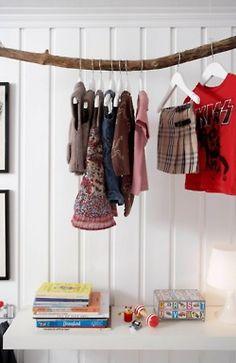 Eva's new closet