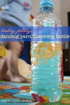 Baby Play Dancing Yarn Discovery Bottle Lessons Learnt Journal (1)