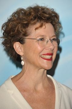 Very Short Curly Hair | Annette Bening