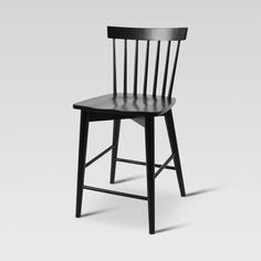 Windsor Counter Stool Hardwood - Threshold™ - image 1 of 3 White Counter Stools, Counter Height Stools, Bar Counter, Furniture Legs, Furniture Hardware, Kitchen Furniture, Farmhouse Light Fixtures, Farmhouse Lighting, Adjustable Bar Stools