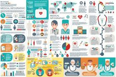 Medical Infographic Elements. Graphic Design Infographics. $8.00
