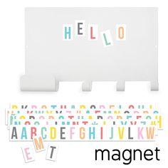 KNAGGER/MAGNETTAVLE - TRESXICS (PASTEL)