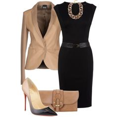 DRESSed for the Office created by billi29 in Polyvore