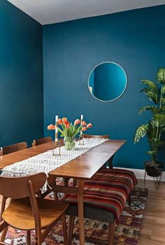 Alluring dining room wall decor ideas 01 00016 — dreamalittlemore.com