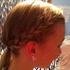 as soon as my granddaughter's hair is long enough!