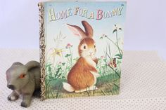A personal favorite from my Etsy shop https://www.etsy.com/listing/206453574/a-little-golden-book-a-home-for-a-bunny