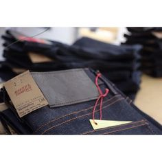 Naked & Famous Jeans in shop!