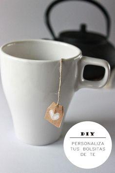 Mi DIY: Personaliza tus bolsitas de te