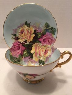 Vintage Stanley Fine Bone China Tea Cup and Saucer