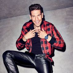 Jacket, $1,975, pants, $1,750, by Versace / T-shirt, $30, by Armani Exchange / Sneakers, $225, by Saturdays NYC / Necklaces from top David Yurman Miansai / Bracelet by George Frost / Watch by Uri Minkoff