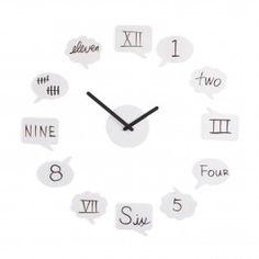 Tick Talk Wall Clock