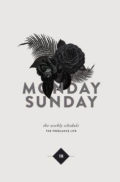 TFL 18 | MONDAY TO SUNDAY | Cocorrina | Bloglovin'