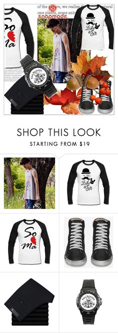"""""""snapmade#3"""" by sabahetasaric ❤ liked on Polyvore featuring Yves Saint Laurent, men's fashion and menswear"""
