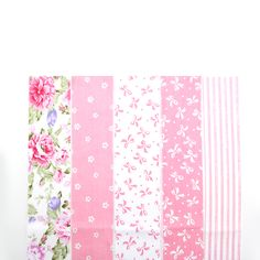 Find More Fabric Information about NEW 5 Colors Pink Floral Patchwork Cotton Fabric Strips Needlework Sewing Patchwork Fabric For Baby Bibs Doll Baby Cloth ZH1 5,High Quality fabric,China fabric piping Suppliers, Cheap fabric butterflies from SHUAN SHUO Handwork Cloth & Accessory Store on Aliexpress.com