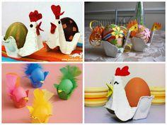 самодельные подставкуи для пасхальных яиц