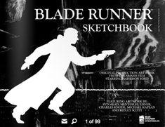 The Blade Runner Sketchbook Features The Original Art of Syd Mead & Ridley Scott Sketchbook Online, Blade Runner Blaster, Michael Kaplan, Concept Art Books, Film Finance, Classic Film Noir, Syd Mead, Sci Fi Films, Android