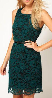 Oasis Lace Lantern Dress