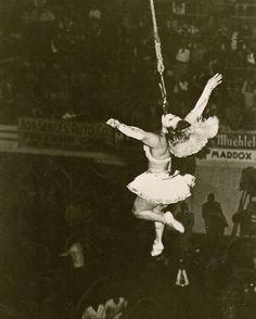 vintage circus dare acts